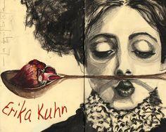 El amor es un número imaginario, Erika Kuhn.