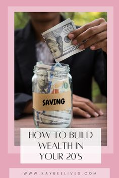 Wealth takes time and effort to build. Starting early is the best way to end up with an comfortable nest egg. Read for tips on steps you can take in your 20's to build wealth!
