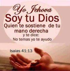 No temas! Dios esta contigo!