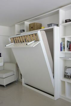 """Excellent """"murphy bed ideas space saving"""" detail is readily available on our internet site. Have a look and you wont be sorry you did. Cama Murphy, Murphy Bed Desk, Murphy Bed Plans, Diy Murphy Bed, Murphy Bed Office, Best Murphy Bed, Murphy Bunk Beds, Space Saving Beds, Space Saving Furniture"""