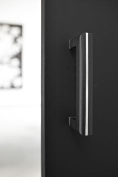 Two - Piet Boon by FORMANI HARDWARE - Solid pull handle in black oak and satin stainless steel