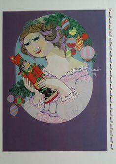 1984 Bjørn Wiinblad Artwork for The Nutcracker and the Royal Danish Ballet in Tivoli (large version) - Original Vintage Poster