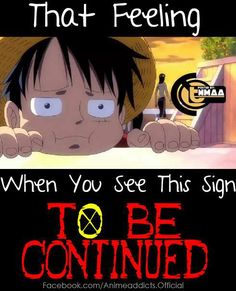 Ugh... The only bad thing about One Piece is that stupid sign... Re-pin if you feel the same!