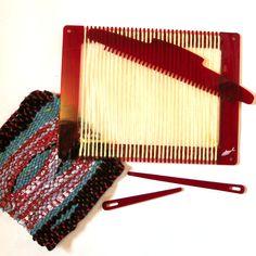 Weaving Loom in Red, Simple Frame Loom.