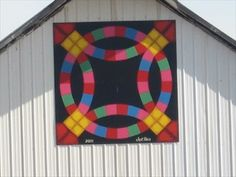 Barn Quilt Patterns to Paint | ... Barn Quilt – rural Rock Rapids, IA - Painted Barn Quilts on