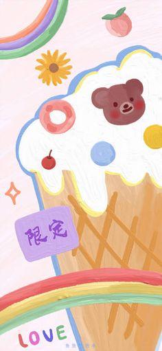 微博 Aesthetic Backgrounds, Phone Backgrounds, Cute Photos, More Pictures, Pikachu, Layout, Bear, Wallpaper, Fictional Characters