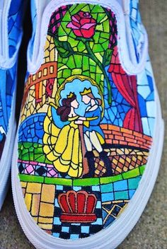 Beauty and the Beast ~ can i have these shoes?