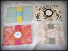 All Occasion Gift Card Holders 4 by CardsAndMoreBySheri on Etsy, $4.50