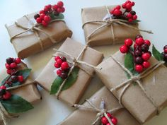 roommom27 brown paper packages tied up with string