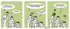 'tiempos 2.0' / tira cómica