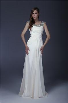 Delicated Beaded Squins Column Scoop Floor Length Alicjas Mother Of The Bride Dress