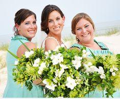 Bridesmaids on the beach!