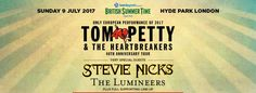 Tom Petty & The Heartbreakers Tickets BST 2017