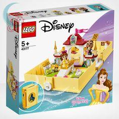 A Disney Szépség és a szörnyeteg című rajzfilm szereplői egy mesekönyvből lépnek elő a LEGO® Disney 43177 – Belle mesekönyve című szettel. #Lego #Disney #Belle #Játék #Jatek #Ajándék #Ajandek #Princess Lego Disney Princess, Lego Princesse Disney, Princesa Disney Bella, Disney Diy, Belle Disney, Lego Ninjago, Lego Duplo, Cadeau Disney, Disney Belle
