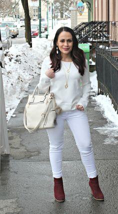 White On Cream + WWlikup - mom with style