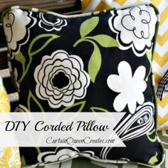 DIY Corded Pillow