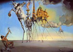 The Temptation of St. Anthony - Salvador Dalí