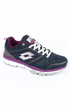 Dominate all form of sports and do it with style with the Andromeda IV running shoes. The women's shoes are available in deep dark navy blue and African violet colour is extremely light weight. Its flexible nature makes the shoe useful for multi purpose use. The shoes have an upper made of nylon mesh and synthetic leather. The EVA outsole with rubber pads protects those areas most prone to wear and tear.