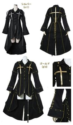 New fashion clothes women dressings 55 Ideas Gothic Mode, Gothic Lolita, Kawaii Clothes, New Fashion Clothes, Fashion Outfits, Fashion Ideas, Style Clothes, Anime Outfits, Cool Outfits