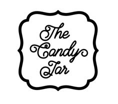Candy Jar or Cookie Jar Label , Large , Sticker , Custom Colour , Food , Kitchen , Pantry , Organization by PatchyPeanut on Etsy
