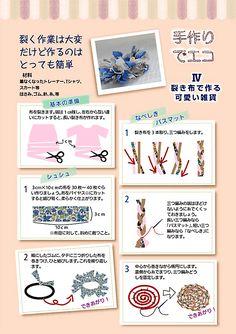 遊和6号:手作りでエコ 裂き布で作るかわいい雑貨 ‐遊和-yuwa-公式サイト | IHM健康情報誌 バックナンバー‐