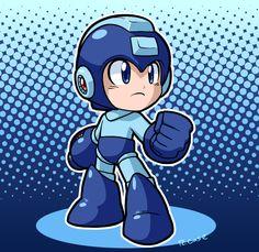 Megaman Classic by rongs1234.deviantart.com on @DeviantArt