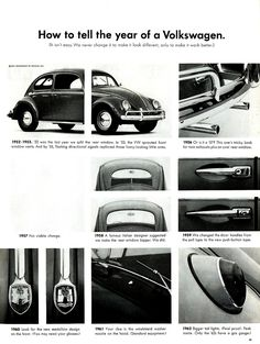 How to Tell the Year of a Volkswagen | Flickr - Photo Sharing!