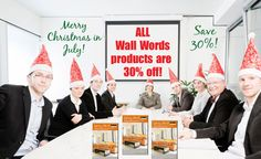 Merry Christmas in July!  All items (except Gift Certificates) are 30% off with special discount code 0712NorthPole! http://www.upitall.com/Private/u/384/760/10394