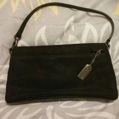 Coach clutch Black authentic coach clutch Coach Bags Mini Bags