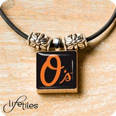 Baltimore Orioles LifeTiles Necklace