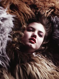 V #66 Pre-Fall 2010 - A Woman In Full by Willy Vanderperre Model: Lindsey Wixson