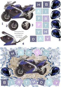 bike blue on Craftsuprint - Add To Basket!