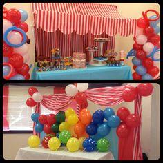 Circus Party Backdrops
