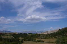"Lovely Abruzzo. Up past Castel Del Monte..... where ""The American"" with George Clooney was filmed"