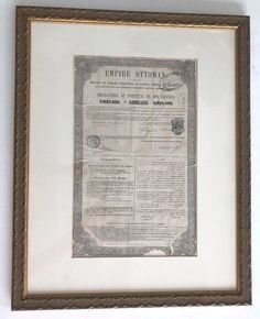 Empire Ottoman, Document Sign, Bond, Stamp, Signs, Ebay, Stamps, Shop Signs, Sign