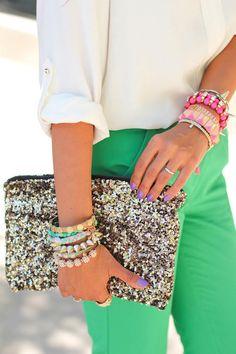 Lina Mayorga: Glitter clutch  #Lockerz