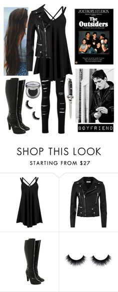 """The Outsiders OC: Victoria Hullson"" by xxstay-goldxx ❤ liked on Polyvore featuring Yves Saint Laurent, Fendi and Urban Decay"