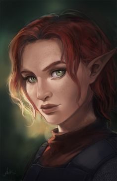 LivingDeadAK - A portrait for my Pillars of Eternity character few months ago.
