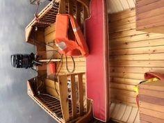 Giesler, cedar strip, wood boat Hamilton Ontario image 3