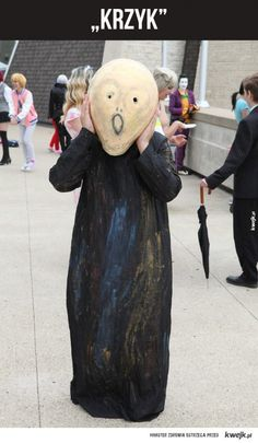 This Cosplays a Real Scream Cosplay Costume Costumes Meme Halloween Cosplay, Cosplay Costumes, Halloween This Year, Princess Leia, Best Cosplay, Funny Posts, Scream, Art Lessons, It Works