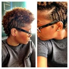 Nice side shot of her curl definitions its so sleek & wavy!! #curlydefinition