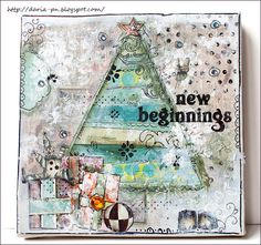 New Year Collage. Made by Daria Pneva. Based on Christy Tomlinson tutorial.