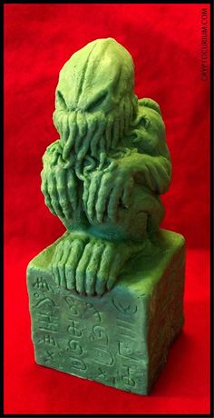 Giant Chocolate Cthulhu Idol by JasonMcKittrick  (Cryptocurium)