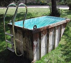 A bath container :D need this for our home we miss our old pool