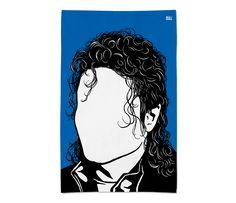 Michael Jackson Tea Towel by Bold & Noble £10