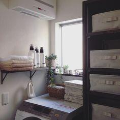 洗濯機上を有効活用する収納アイデア48選☆ | folk (2ページ)