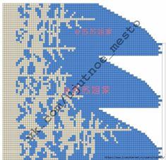 Knitting Charts, Lace Knitting, Knitting Stitches, Knitting Patterns Free, Knit Patterns, Crochet Motif, Knit Crochet, Crochet Hats, Dress Sewing Patterns