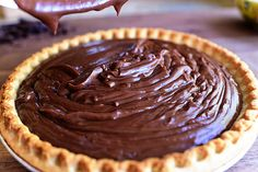 I'll be making this Chocolate Pie for Thanksgiving!