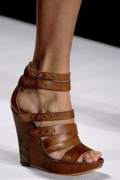 Sandalias con plataforma, casual