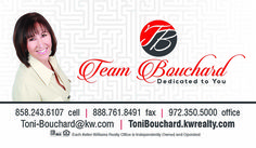 Team Bouchard Business Card created by Marni G Designs #MarniGDesigns #BusinessCard #BC #TeamBouchard